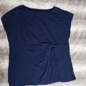 Navy lane Bryant blouse